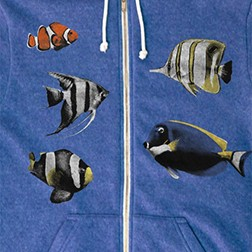 Tropical Fish Hoodie