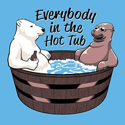 Everybody in the Hot Tub