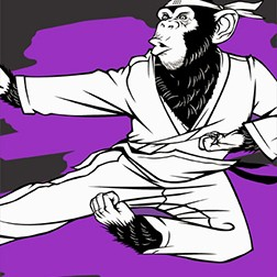 Karate Chimp