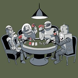 Robot Poker Game